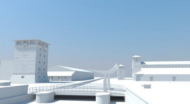 cervia 3d rendering