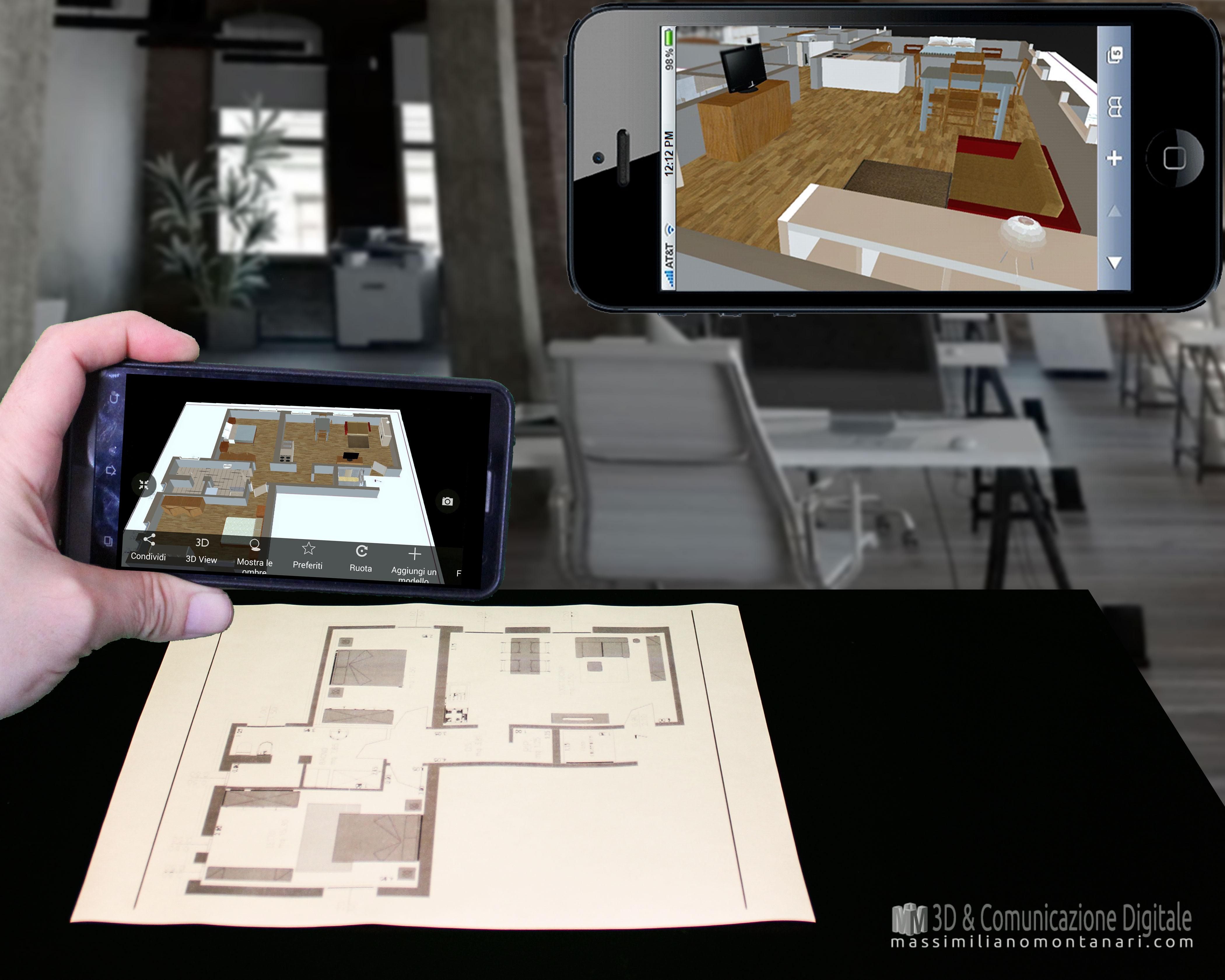 realtà aumentata per architettura
